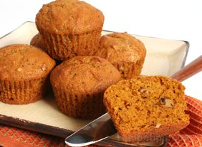 Pumpkin Nut Muffins Recipe