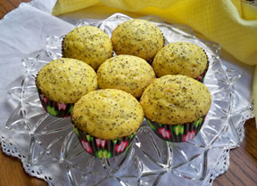 quick-n-easy lemon poppy seed muffins Recipe