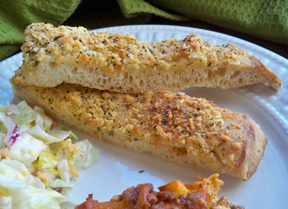 quick pizza breadsticks Recipe