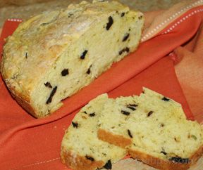 Rosemary Olive Casserole Bread