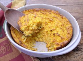 Winter Squash Spoon Bread