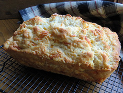 Swiss and Cheddar Beer Bread