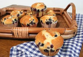 Wild Blueberry Muffins Recipe