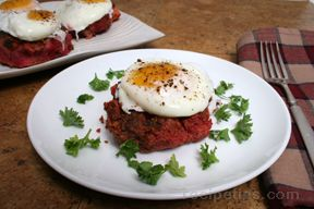 Corned Beef Hash with Roasted Vegetables
