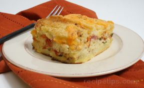 savory herb bacon and tomato french toast Recipe
