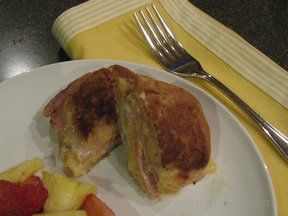 Breakfast Monte Cristo Croissant Recipe
