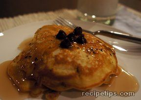 CHOCOLATE CHIP PANCAKES 4 Recipe