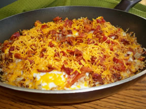 Country Brunch Skillet with Bacon