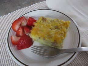 egg bake with hashbrowns Recipe