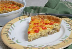 Eggs and Sausage Pie