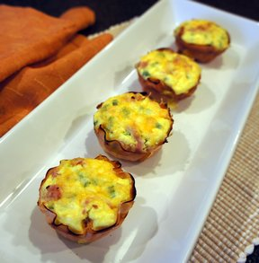 Ham And Cheese Breakfast CupsnbspRecipe