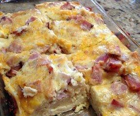 Ham  Egg Breakfast Brunch