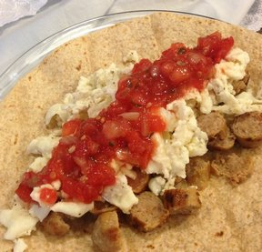 Healthy Breakfast Tortillas