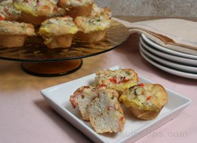 mini crab quiches Recipe