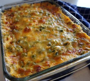 overnight asparagus strata Recipe