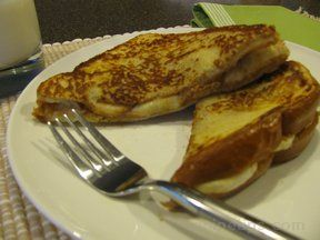 peanut butter banana french toast Recipe