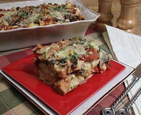 Pizza Strata Recipe