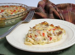 turkey hash brown breakfast bake Recipe