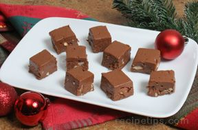 chocolate almond fudge Recipe