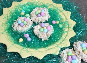 Coconut Easter Nests Recipe