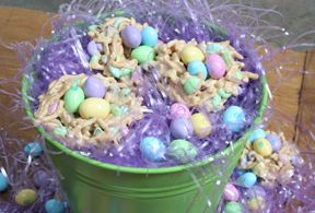 peanut butter easter nests Recipe