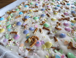 Easter Pretzel Bark Recipe