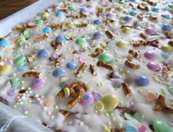 Easter Pretzel Bark