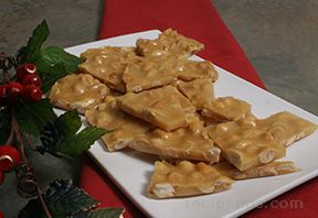 Microwaveable Peanut Brittle