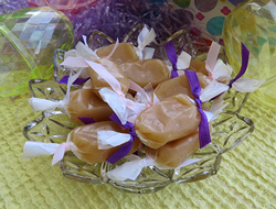 soft  chewy microwave caramels Recipe