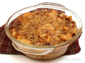 Apple Walnut Casserole