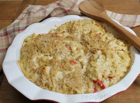Baked Chicken with Pasta