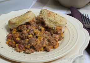 Beef and Biscuit Bake Recipe