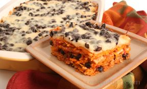 Black Bean and Cheese Bake