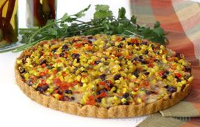 Black Bean and Corn Tart