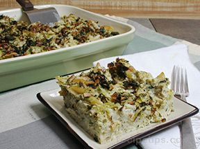 Cauliflower and Leek Kugel Recipe