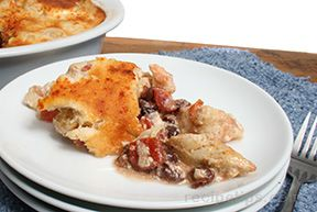 Cheese Souffle Crusted Chicken
