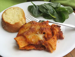 Cheesy Rigatoni Bake Recipe