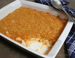 Cheesy Turkey Casserole Recipe