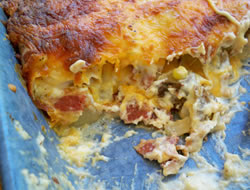 Cheesy Twice Baked Potato Casserole Recipe