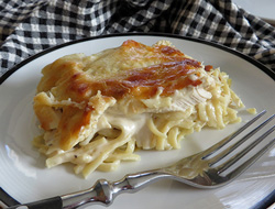 Chicken Alfredo Casserole Recipe