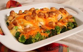 Chicken Divine - Chicken Rice and Broccoli Casserole Recipe