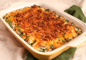 Chicken Rice and Green Bean Casserole Recipe