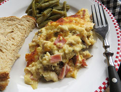 Chicken Ham Casserole Recipe