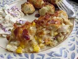 Chicken Tater Tot Hotdish