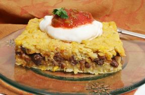 Corn and Black Bean Tamale PienbspRecipe
