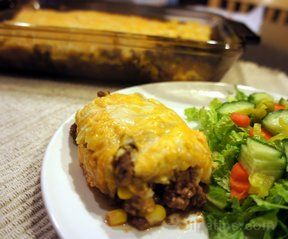 Corn Bread Taco Bake Recipe