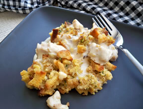Easy Creamy Chicken Casserole