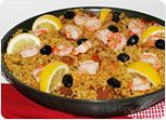 Chicken, Shrimp and Sausage Paella Recipe