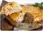 Scallop Potatoes and Ham Recipe