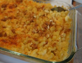 creamy four-cheese macaroni and cheese Recipe
